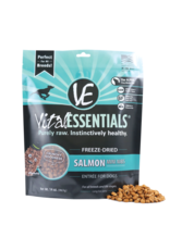Vital Essentials VITAL ESSENTIALS FREEZE-DRIED SALMON MINI NIBS ENTRÉE FOR DOGS 14OZ