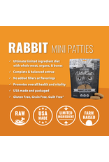 Vital Essentials VITAL CAT FREEZE-DRIED MINI PATTIES RABBIT ENTRÉE 8OZ