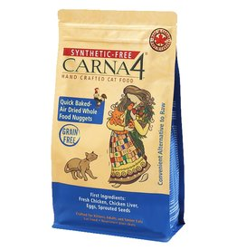 Carna4 Hand Crafted Pet Food CARNA4 CAT QUICK BAKED AIR DRIED WHOLE FOOD NUGGETS CHICKEN FORMULA