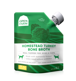 Open Farm OPEN FARM HOMESTEAD TURKEY BONE BROTH 12OZ