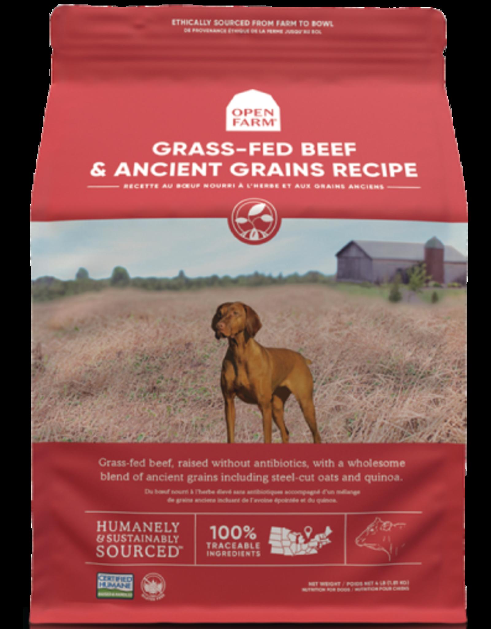 Open Farm OPEN FARM DOG GRASS-FED BEEF & ANCIENT GRAINS RECIPE