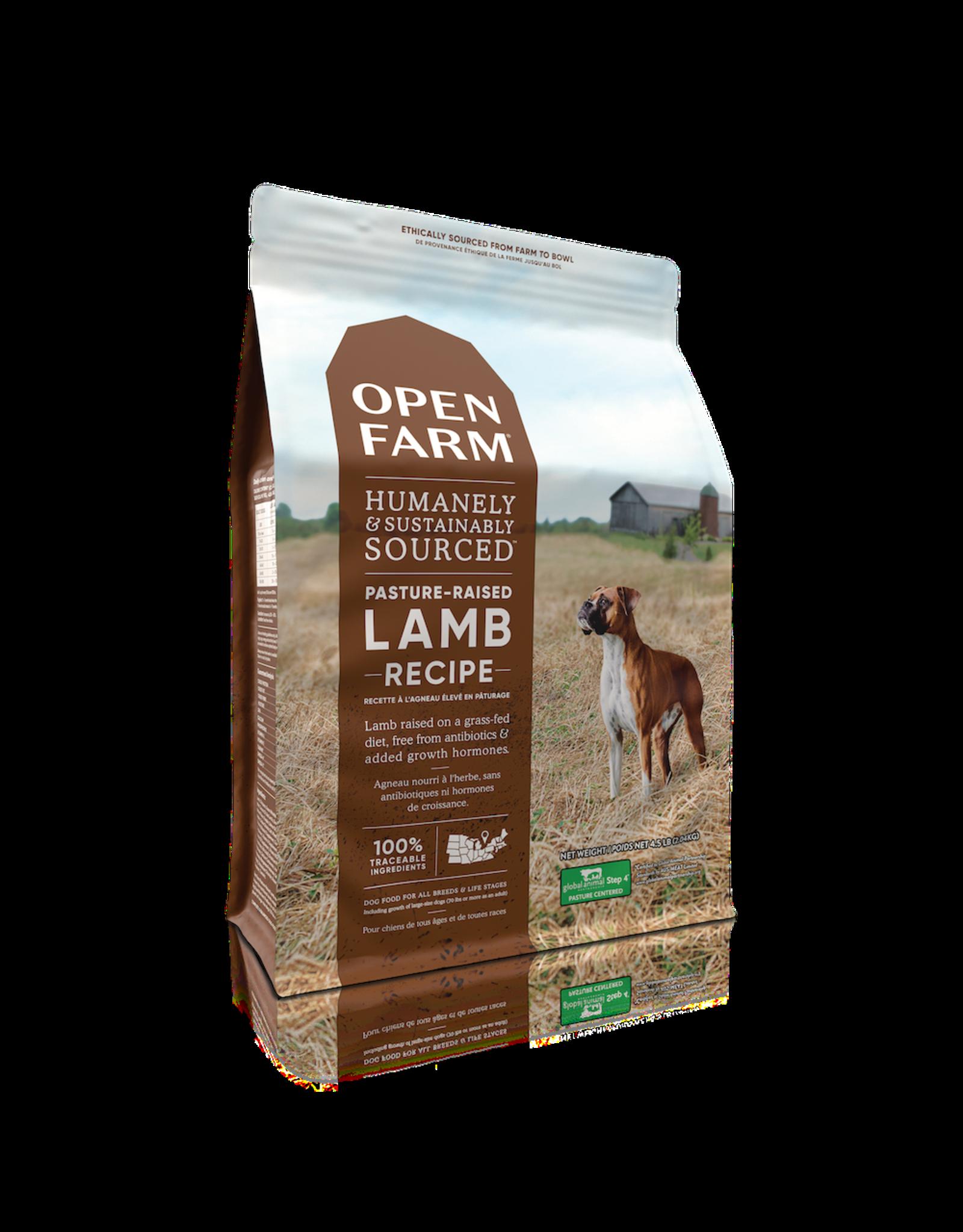 Open Farm OPEN FARM DOG PASTURE-RAISED LAMB RECIPE