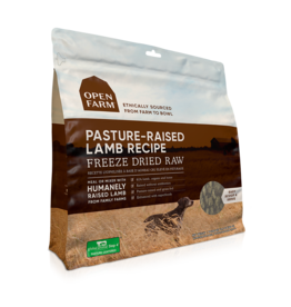 Open Farm OPEN FARM DOG FREEZE DRIED RAW PASTURE-RAISED LAMB RECIPE 13OZ