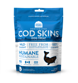 Open Farm OPEN FARM DEHYDRATED COD SKINS DOG TREAT 2.25OZ