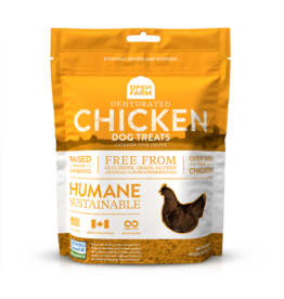 Open Farm OPEN FARM DEHYDRATED CHICKEN DOG TREATS 4.5OZ