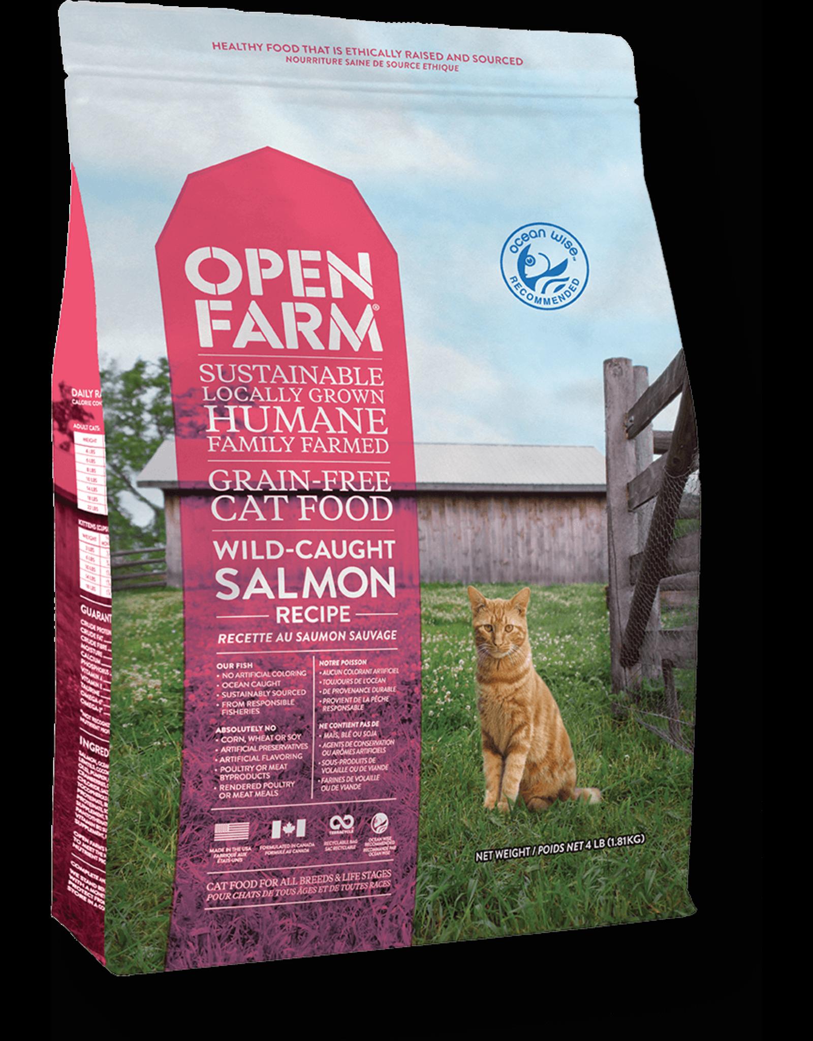 Open Farm OPEN FARM CAT WILD-CAUGHT SALMON