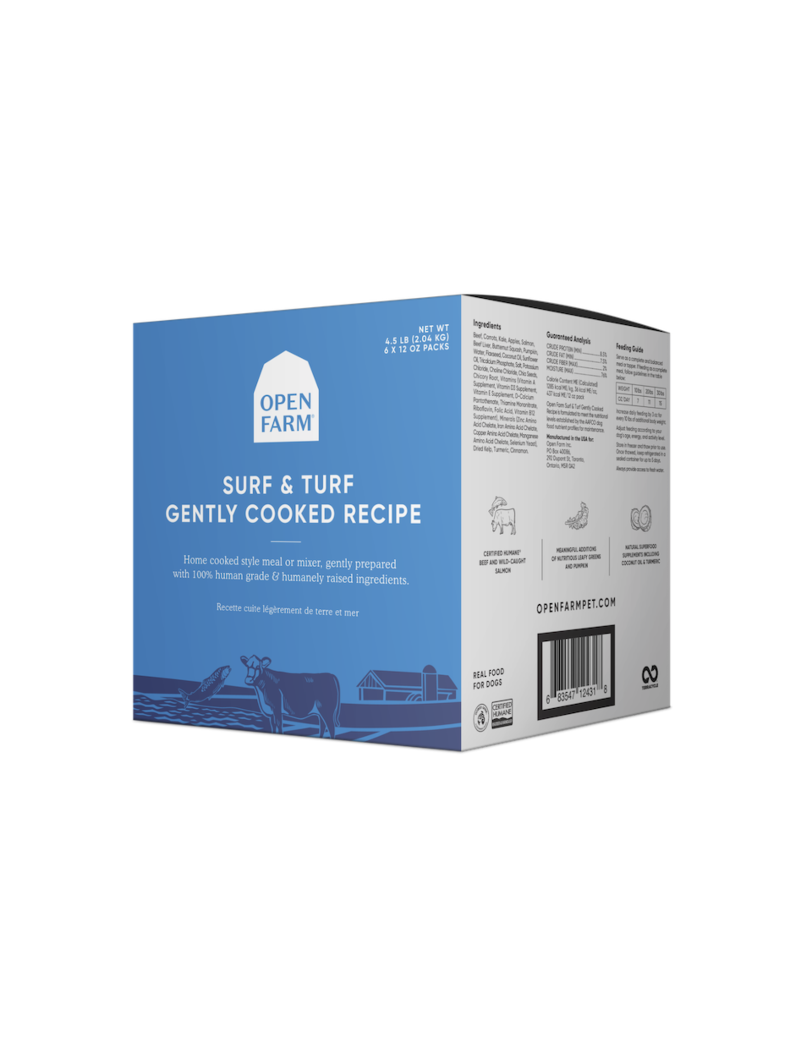 Open Farm OPEN FARM DOG SURF & TURF GENTLY COOKED RECIPE