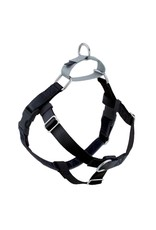 2 Hounds Design 2 HOUNDS DESIGN BLACK THE FREEDOM NO-PULL HARNESS + LEASH