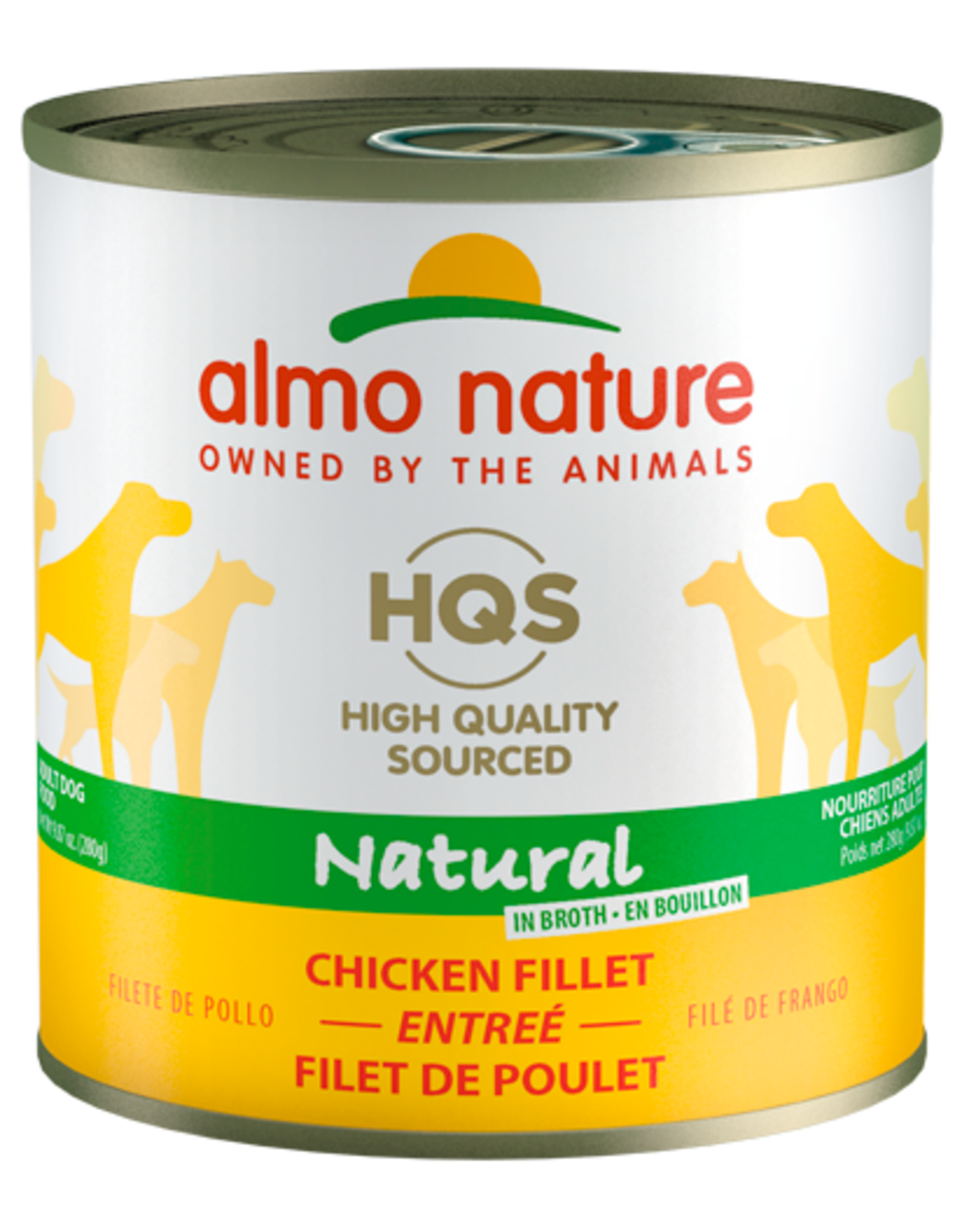 Almo Nature ALMO NATURE DOG HQS NATURAL CHICKEN FILLET ENTRÉE IN BROTH 9.87OZ