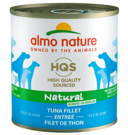 Almo Nature ALMO NATURE DOG HQS NATURAL TUNA FILLET ENTRÉE IN BROTH 9.87OZ
