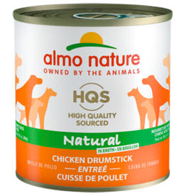 Almo Nature ALMO NATURE DOG HQS NATURAL CHICKEN DRUMSTICK ENTRÉE IN BROTH 9.87OZ