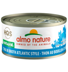 Almo Nature ALMO NATURE CAT HQS NATURAL TUNA IN BROTH ATLANTIC STYLE