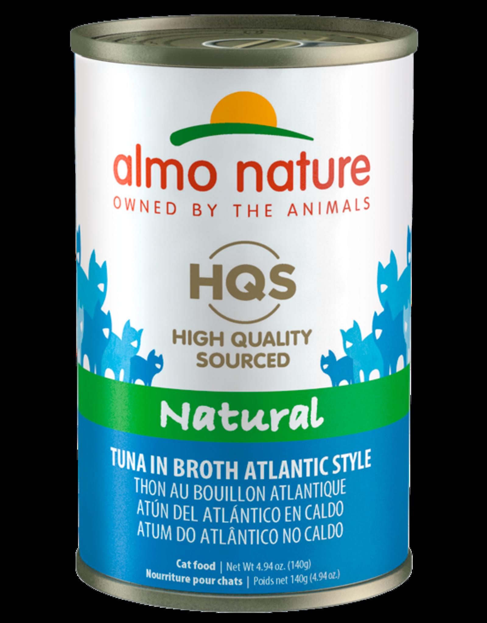 Almo Nature ALMO NATURE CAT HQS NATURAL TUNA IN BROTH ATLANTIC STYLE