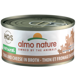 Almo Nature ALMO NATURE CAT HQS NATURAL TUNA WITH CHEESE IN BROTH