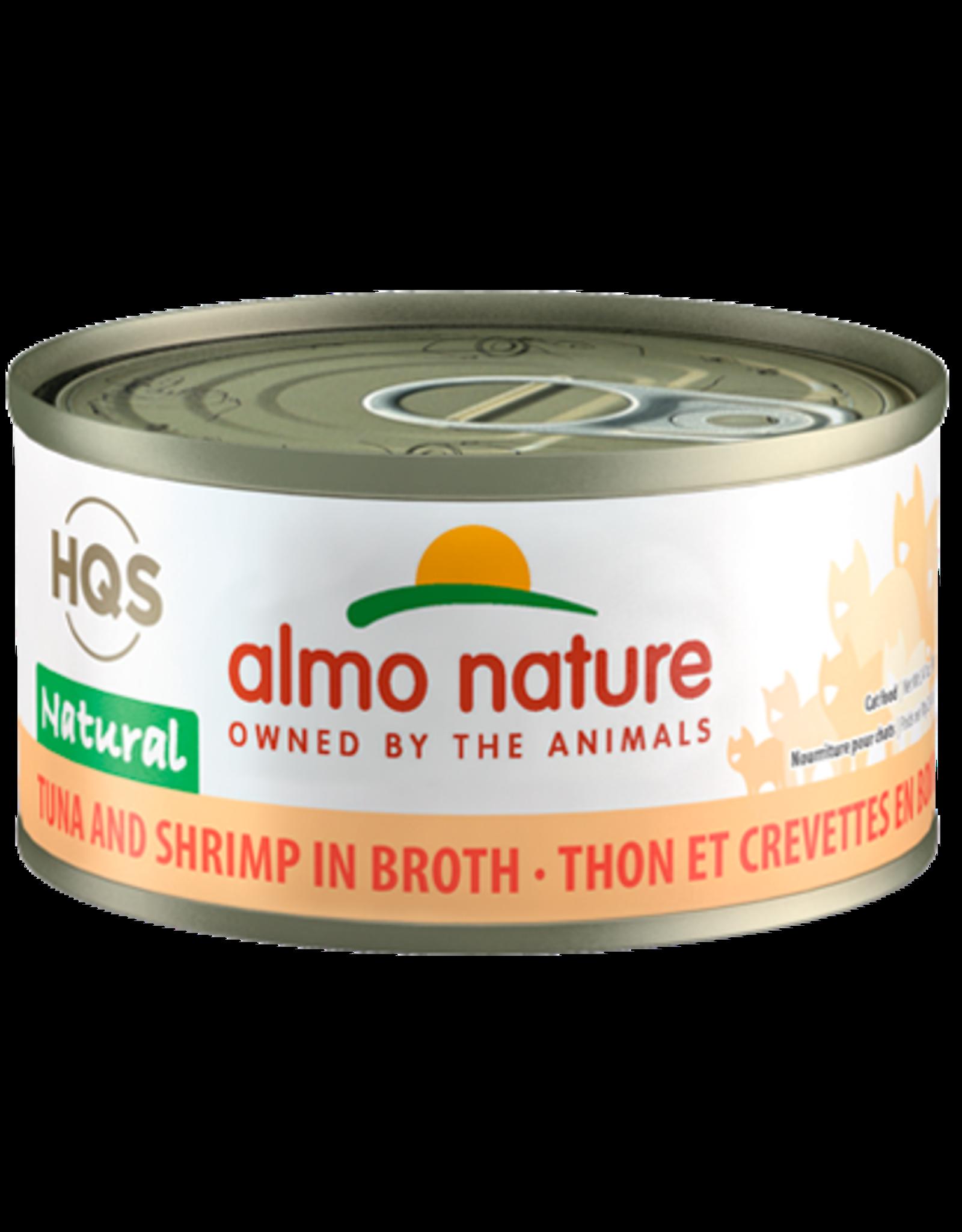 Almo Nature ALMO NATURE CAT HQS NATURAL TUNA AND SHRIMP IN BROTH