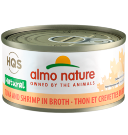 Almo Nature ALMO NATURE CAT HQS NATURAL TUNA AND SHRIMP IN BROTH