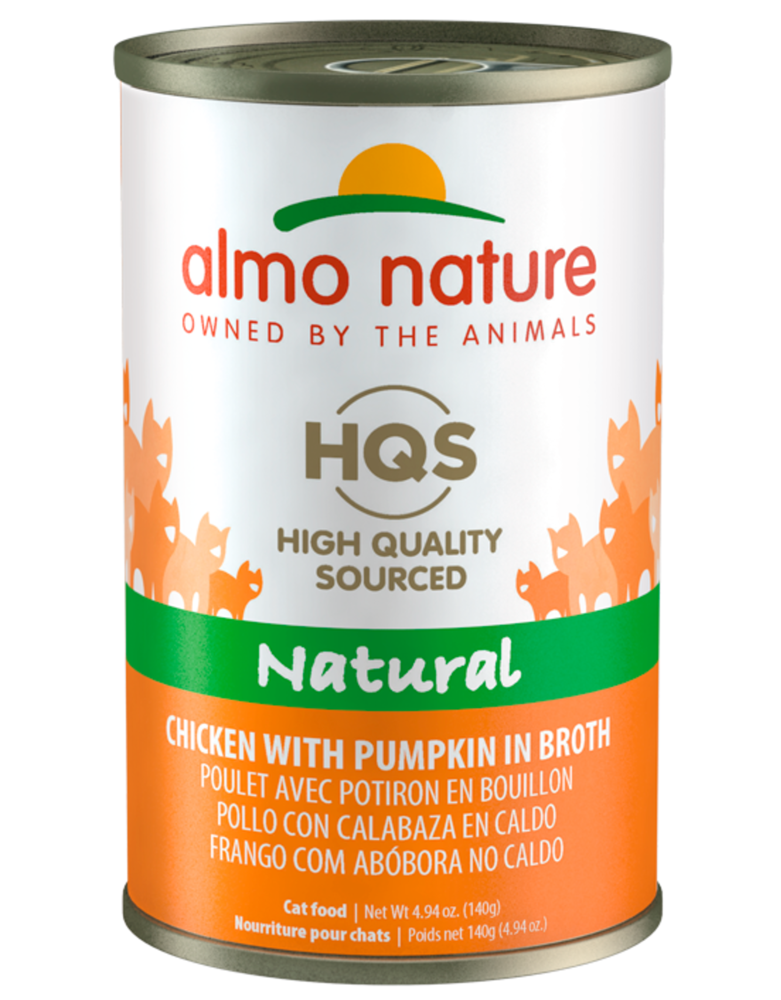 Almo Nature ALMO NATURE CAT HQS NATURAL CHICKEN WITH PUMPKIN IN BROTH