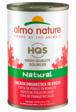Almo Nature ALMO NATURE CAT HQS NATURAL CHICKEN DRUMSTICK IN BROTH