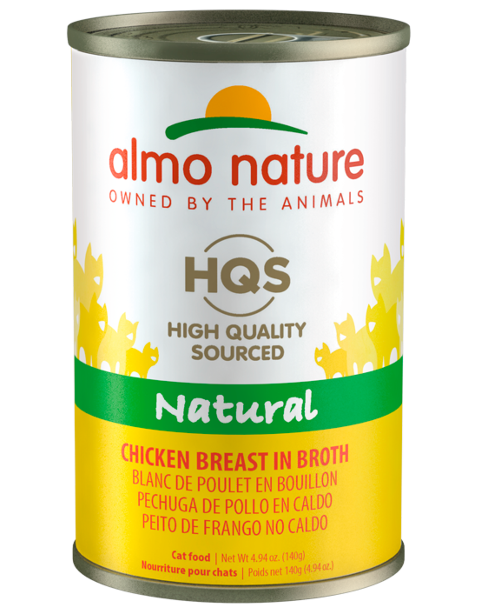 Almo Nature ALMO NATURE CAT HQS NATURAL CHICKEN BREAST IN BROTH