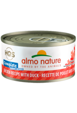 Almo Nature ALMO NATURE CAT HQS COMPLETE CHICKEN RECIPE WITH DUCK IN GRAVY 2.47OZ