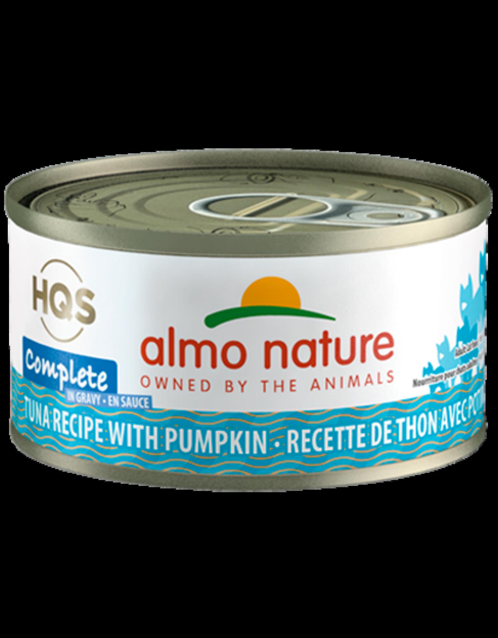 Almo Nature ALMO NATURE CAT HQS COMPLETE TUNA RECIPE WITH PUMPKIN IN GRAVY 2.47OZ