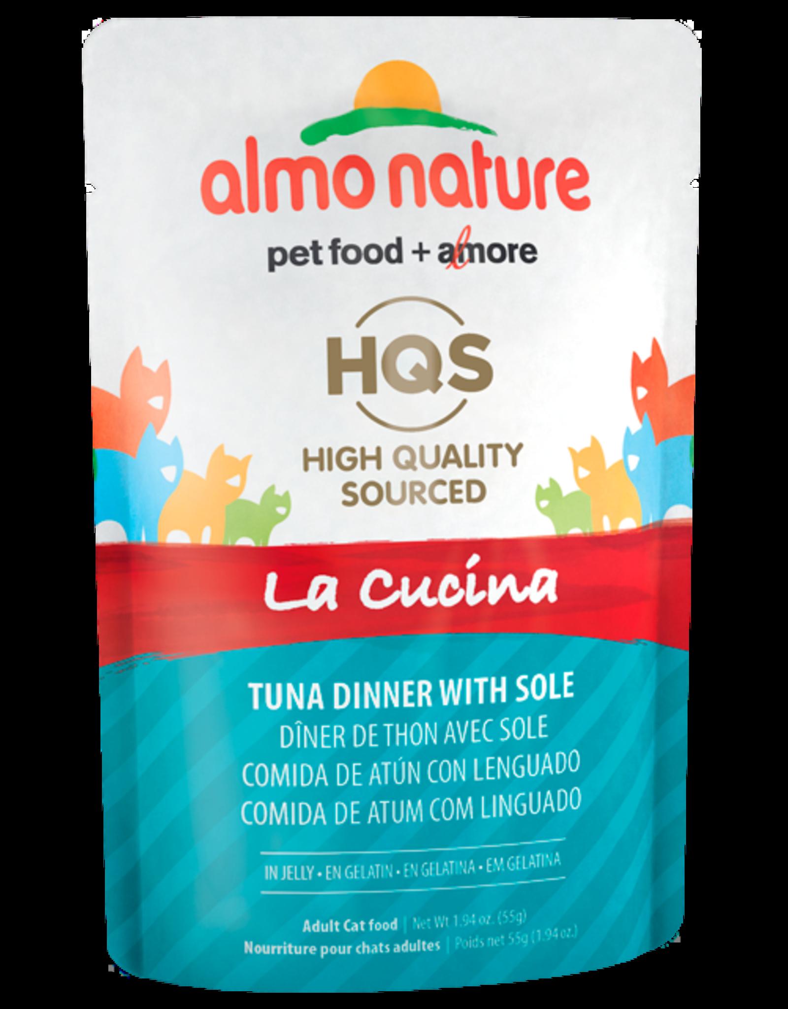 Almo Nature ALMO NATURE CAT HQS LA CUCINA TUNA DINNER WITH SOLE IN JELLY 1.94OZ