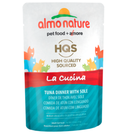 Almo Nature ALMO NATURE CAT HQS LA CUCINA TUNA DINNER WITH SOLE IN JELLY 1.94OZ