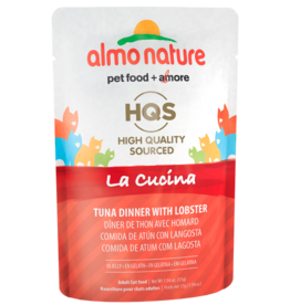 Almo Nature ALMO NATURE CAT HQS LA CUCINA TUNA DINNER WITH LOBSTER IN JELLY 1.94OZ