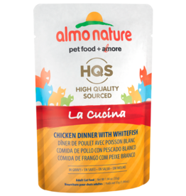 Almo Nature ALMO NATURE CAT HQS LA CUCINA CHICKEN DINNER WITH WHITEFISH IN GRAVY 1.94OZ