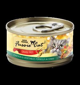 Fussie Cat FUSSIE CAT SUPER PREMIUM CHICKEN WITH VEGETABLES FORMULA IN GRAVY 2.8OZ