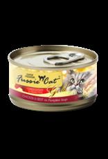 Fussie Cat FUSSIE CAT SUPER PREMIUM CHICKEN & BEEF FORMULA IN PUMPKIN SOUP 2.8OZ