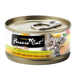 Fussie Cat FUSSIE CAT PREMIUM TUNA WITH ANCHOVIES FORMULA IN ASPIC