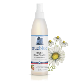 TrueBluePets TRUEBLUE FRESH-IN-A-FLASH CLEANSING SPRAY WITH GRAPEFRUIT & CHAMOMILE 8.7OZ