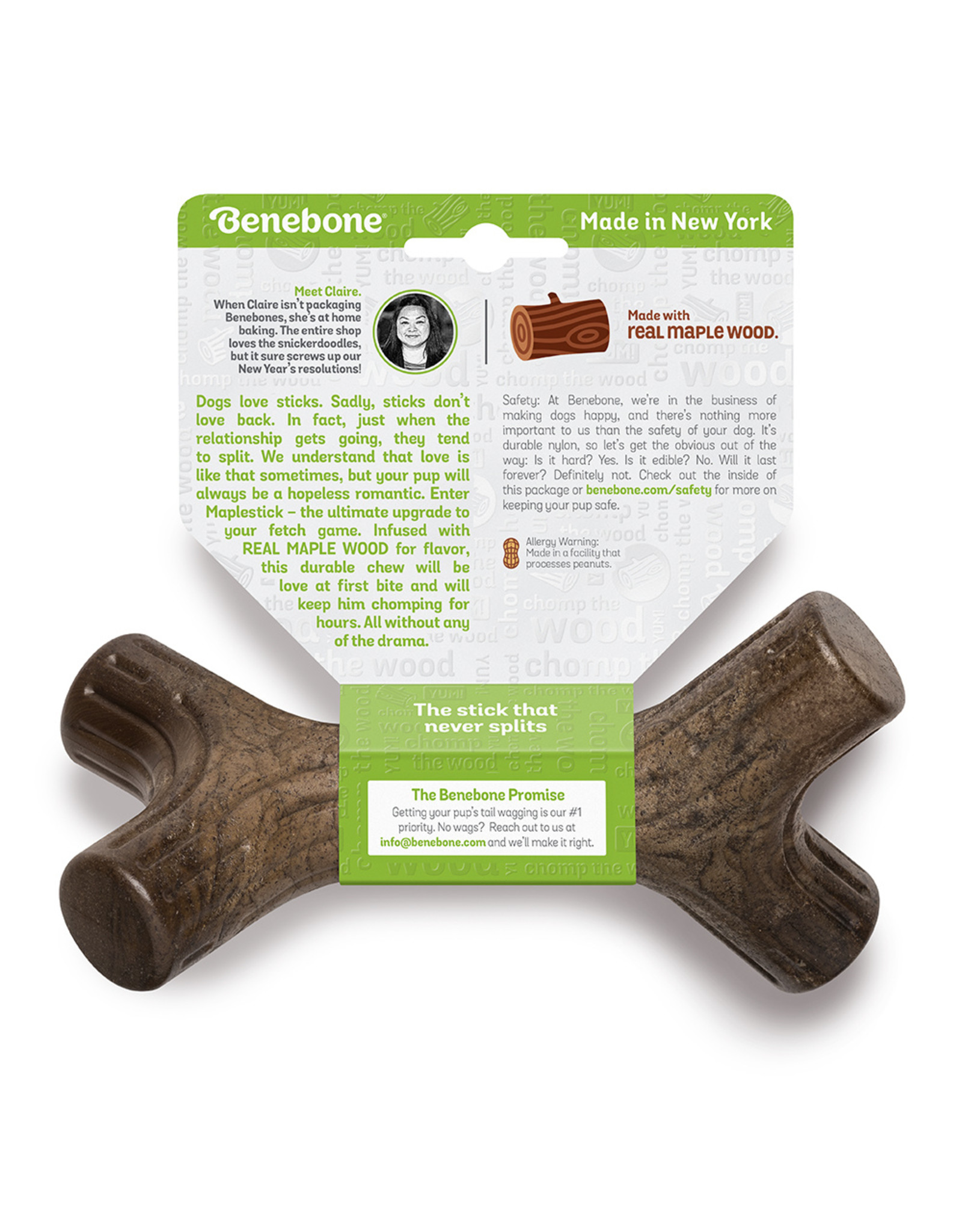 Benebone BENEBONE MAPLESTICK DOG CHEW TOY