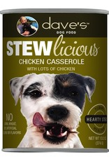 Dave's Pet Food DAVE'S DOG STEWLICIOUS CHICKEN CASSEROLE STEW 13OZ