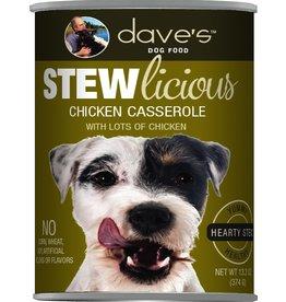 Dave's Pet Food DAVE'S DOG STEWLICIOUS CHICKEN CASSEROLE STEW 13OZ