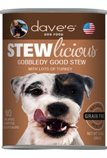 Dave's Pet Food DAVE'S DOG STEWLICIOUS GOBBLEDY GOOD STEW 13.2OZ