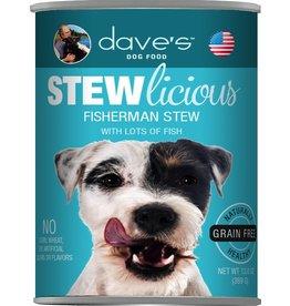 Dave's Pet Food DAVE'S DOG STEWLICIOUS FISHERMAN STEW 13.2OZ