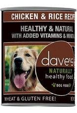 Dave's Pet Food DAVE'S DOG NATURALLY HEALTHY FOOD CHICKEN & RICE