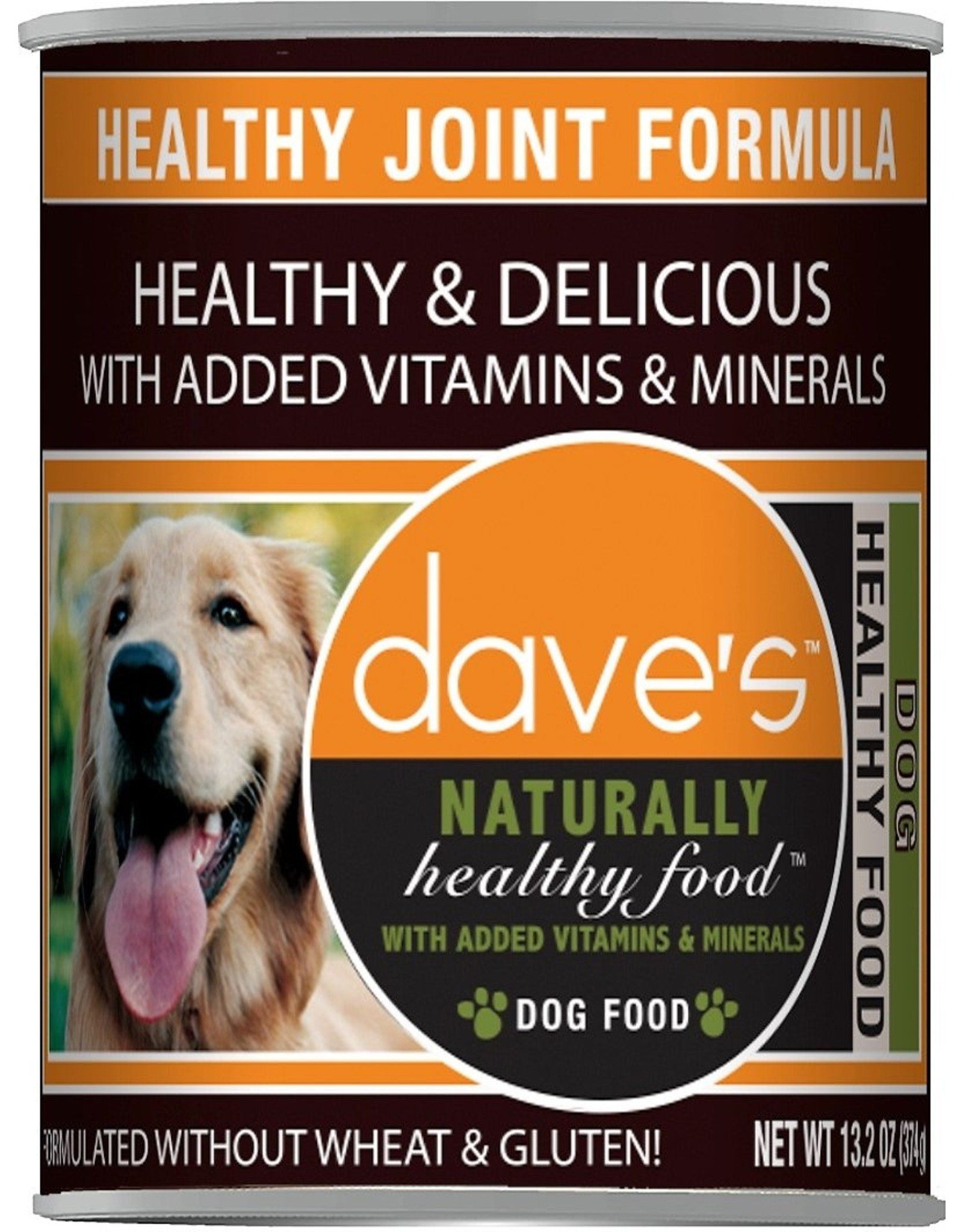 Dave's Pet Food DAVE'S DOG NATURALLY HEALTHY FOOD HEALTHY JOINT 13OZ