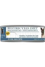 Dave's Pet Food DAVE'S CAT RESTRICTED DIET MAGNESIUM – PHOSPHORUS PORK RECIPE 5.5OZ