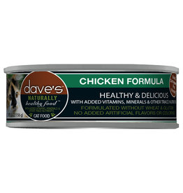 Dave's Pet Food DAVE'S CAT NATURALLY HEALTHY FOOD CHICKEN FORMULA