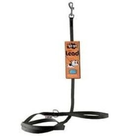 GoGo Pet Products GOGO BLACK NYLON COMFY LEAD