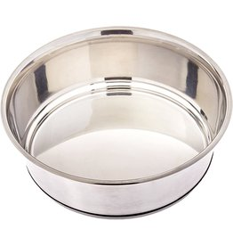 GoGo Pet Products GOGO STAINLESS STEEL HEAVY WEIGHT NON-SKID PET BOWL