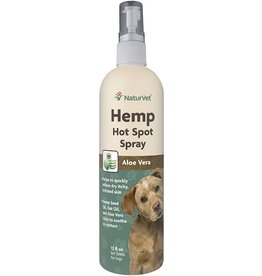 NaturVet NATURVET HEMP HOT SPOT SPRAY WITH ALOE VERA 12OZ