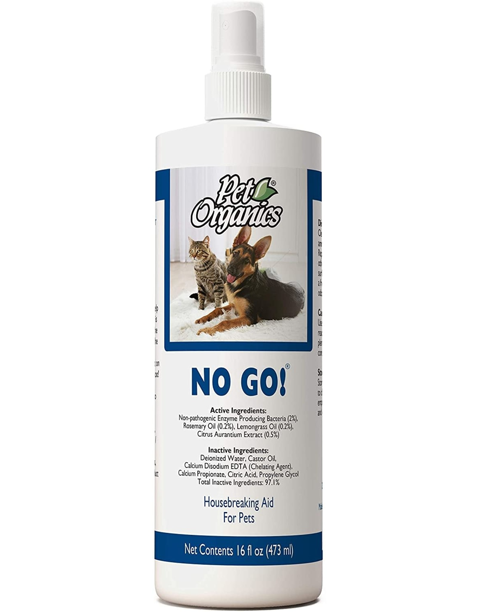 NaturVet NATURVET PET ORGANICS NO GO HOUSEBREAKING AID SPRAY 16OZ