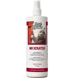 NaturVet NATURVET PET ORGANICS NO SCRATCH SPRAY FOR CATS 16OZ
