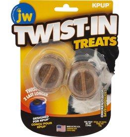 Petmate JW PET TWIST-IN TREATS REFILL CHICKEN FLAVOR 2-COUNT