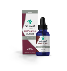 Pet Releaf PET RELEAF HEMP OIL 200MG CBD 1OZ BOTTLE