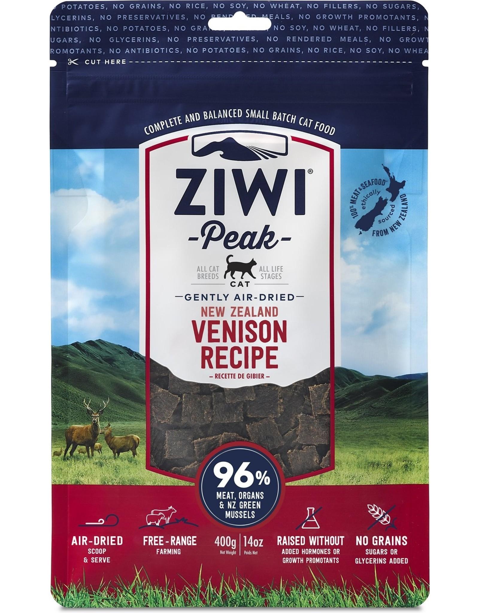 Ziwi Peak ZIWI PEAK CAT GENTLY AIR-DRIED NEW ZEALAND VENISON RECIPE